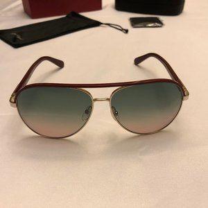 Salvatore Ferragamo Aviator Unisex Sunglasses